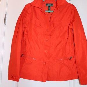 Ralph Lauren Orange Utility Jacket M